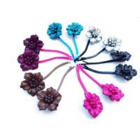 Pins leather flower - Diverse color