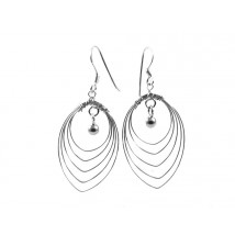 long earring silver