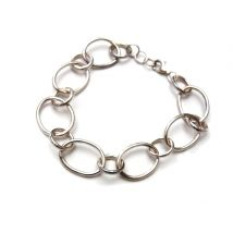 bracelet with large hoops