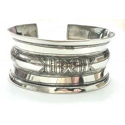 Bracelet rigide touareg en argent