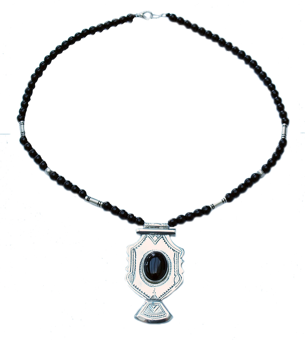 Collier touareg ethnique chic