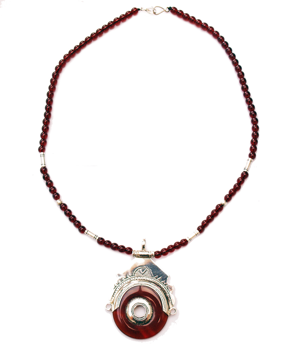 collier touareg ethnique