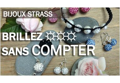 Strass Jewels, to shine without counting from 11€
